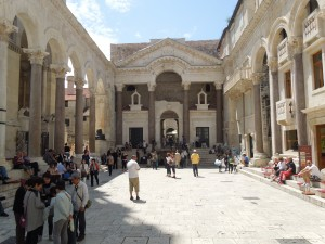 Peristyle, Diocletian's Palace, Split