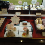 Sakura-themed confections